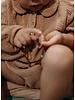 Repose minikin 9. woven collar suit - warm caramel