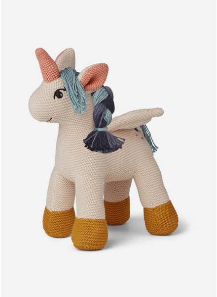 Liewood adiana knitted teddy unicorn sandy