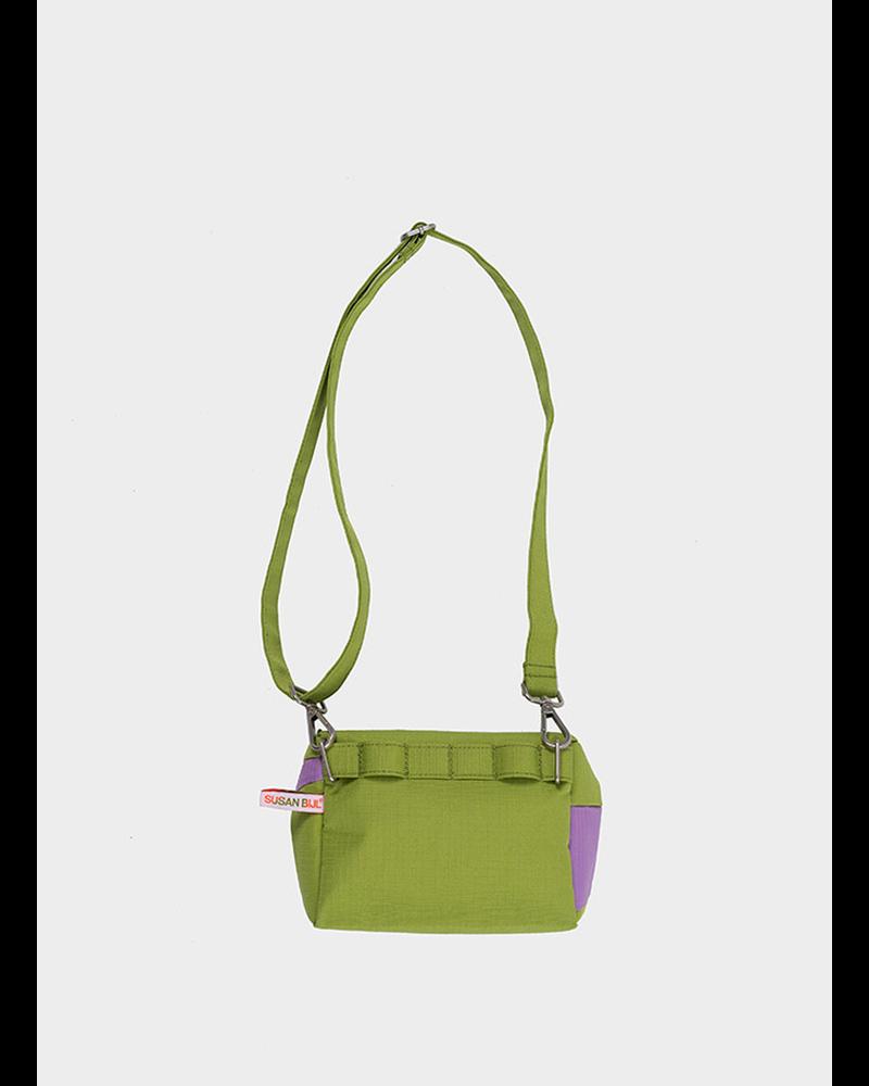 Susan Bijl bum bag apple and dahlia