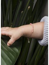 Charlotte Wooning armband confetti oranje