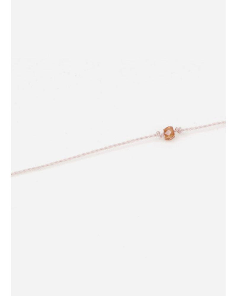 Charlotte Wooning armband wish oranje