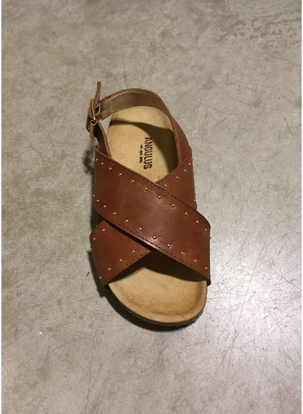 Angulus sandal with soft foot bed - tan