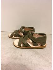 Angulus starter sandal with velcro closure - khaki