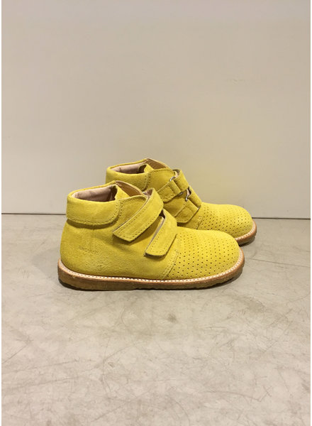 Angulus starter boot with velcro closure - light yellow