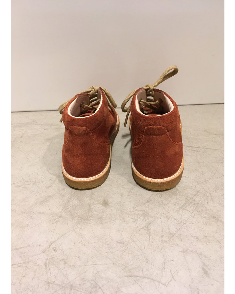 Angulus starter boot with laces - rust