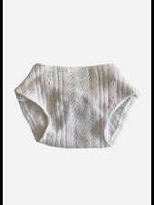 Minikane poppenkleertjes culotte gordis blanche en coton