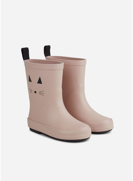 Liewood rio rain boot cat rose