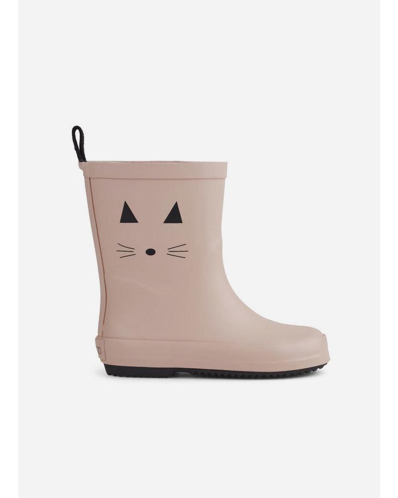 Liewood rio rain boot cat rose
