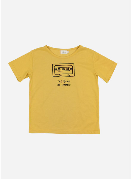 Buho leo sound of summer tshirt - ocre