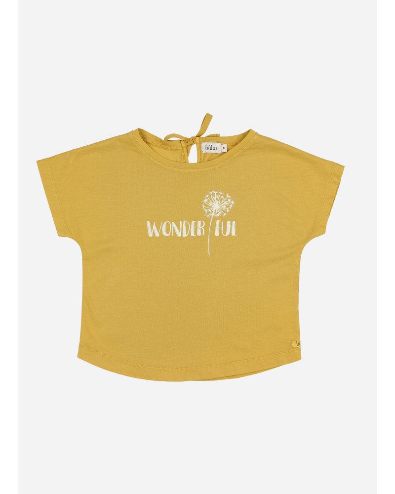 Buho rita wondrful tshirt - ocre