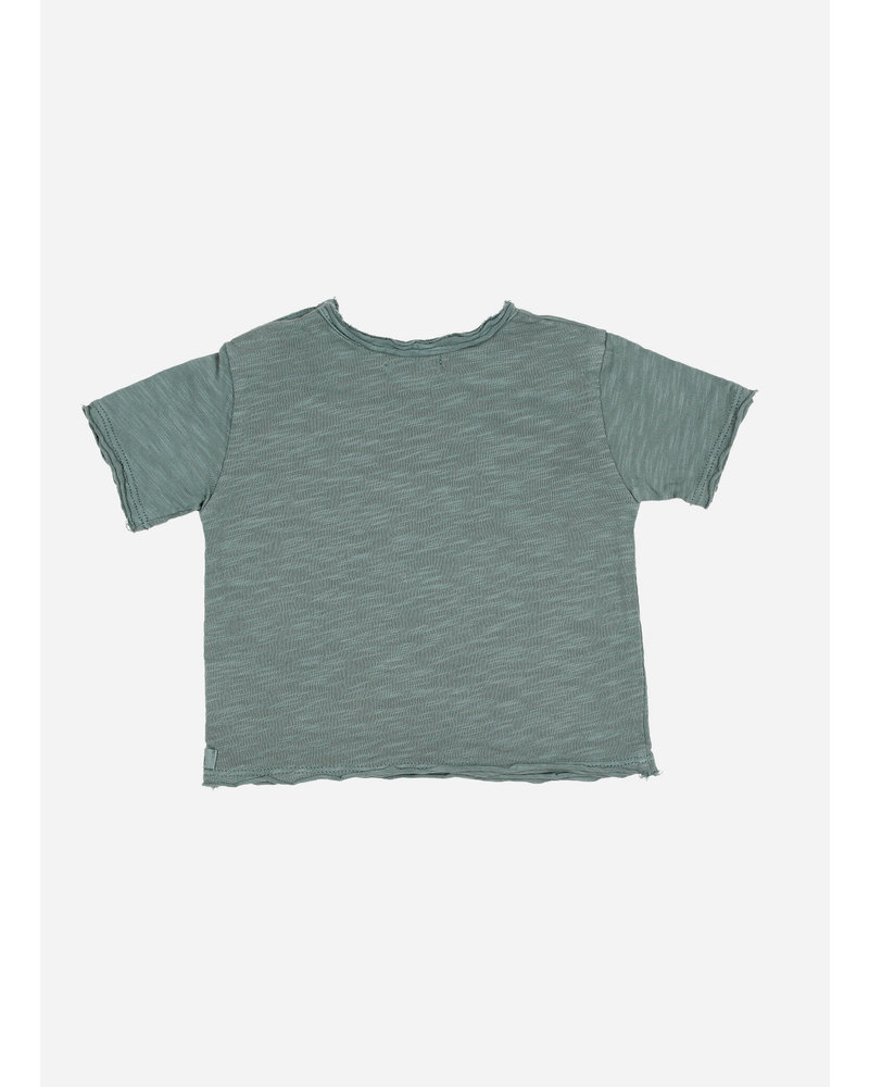 Buho cesar baby crab tshirt - musk