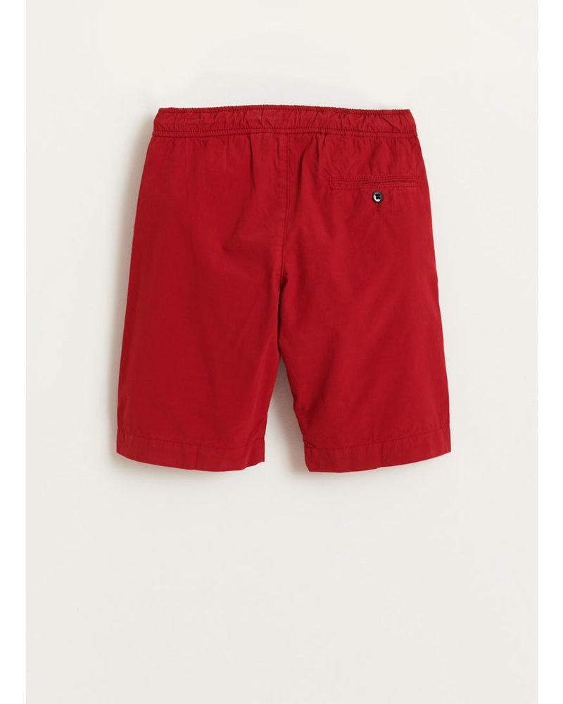Bellerose pawl shorts - red dahlia