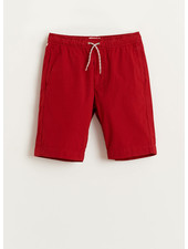 Bellerose pawl shorts - red dahlia