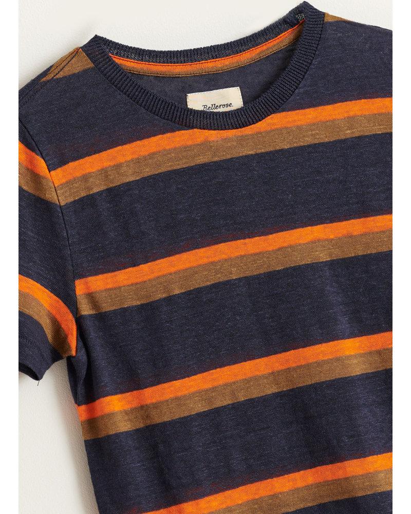 Bellerose mogo tshirt - stripe e