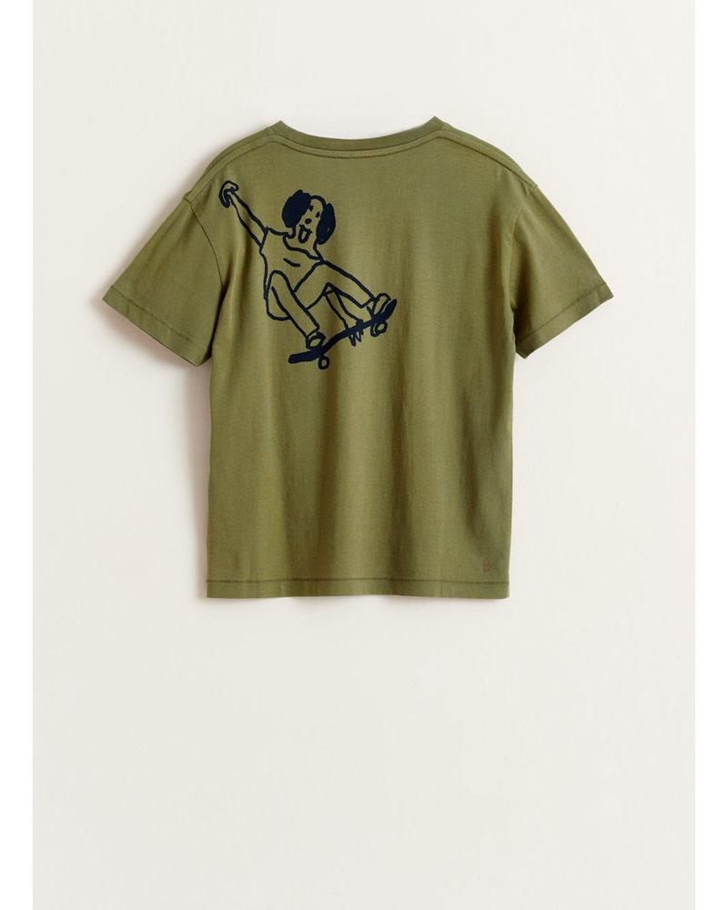 Bellerose kenu tshirt - army