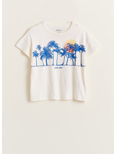 Bellerose ayoa tshirt - vintage white