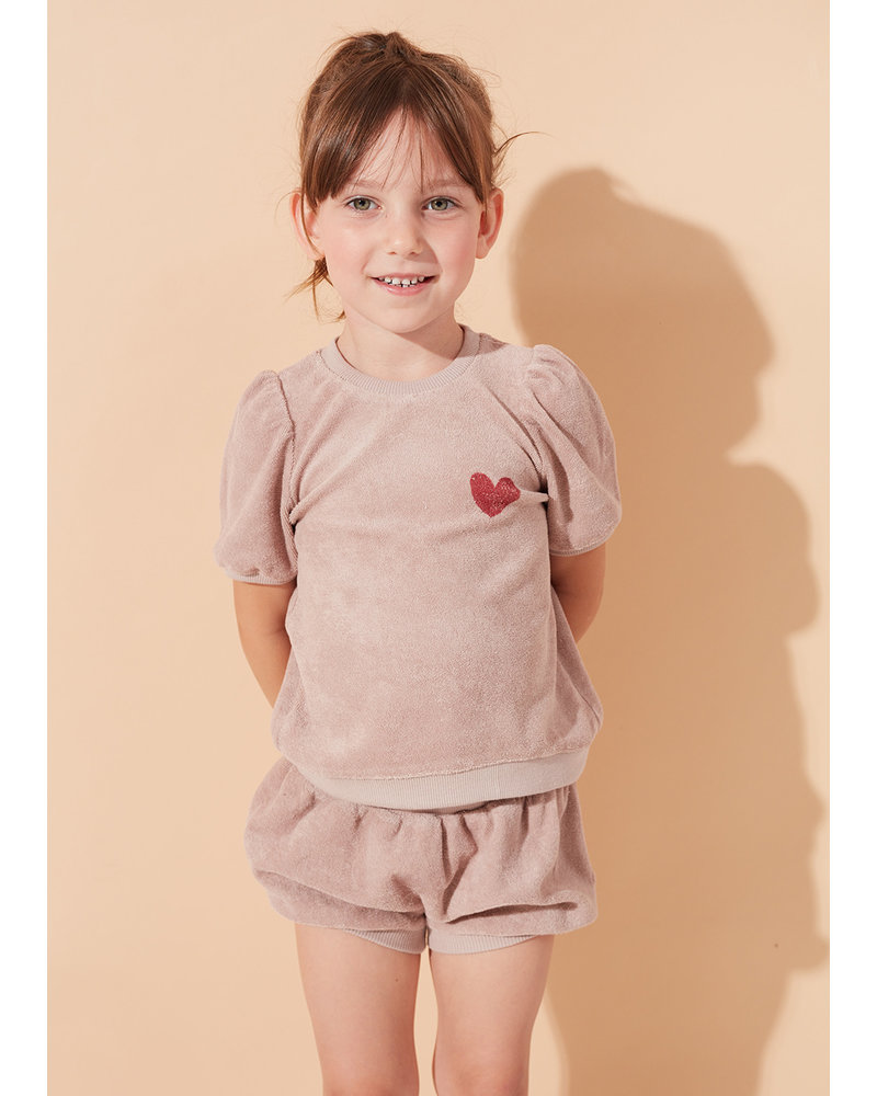 Kids on the moon aurora bubble shorts
