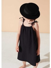 Kids on the moon evening shadow strap dress