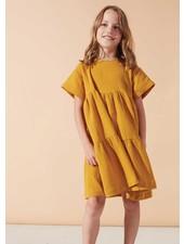 Kids on the moon sunglow cascade dress