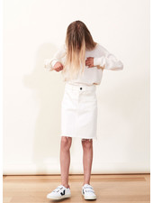 Designer Remix Girls bellis skirt - cream
