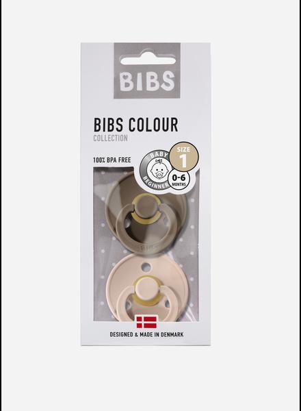 Bibs fopspeen natuurrubber dark oak - blush