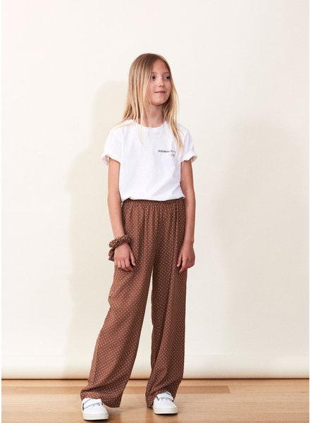 Designer Remix Girls eliza pants - dots