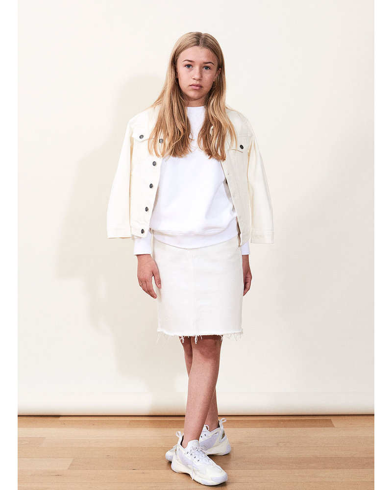 Designer Remix Girls bellis skirt - cream