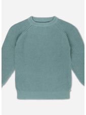 Repose knit sweater - greyish sea