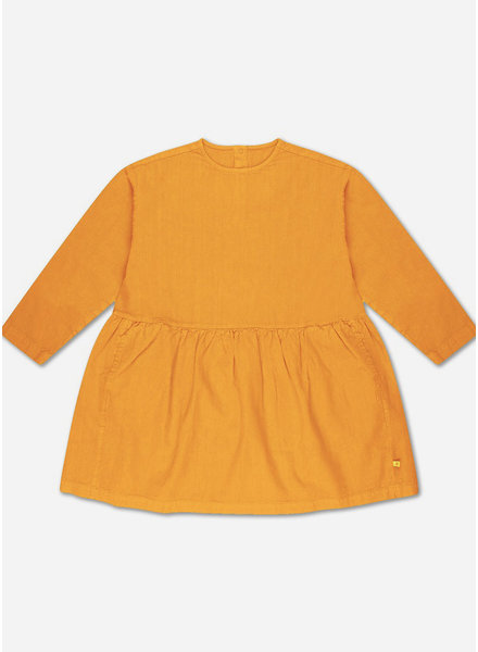 Repose twirl dress - sun gold
