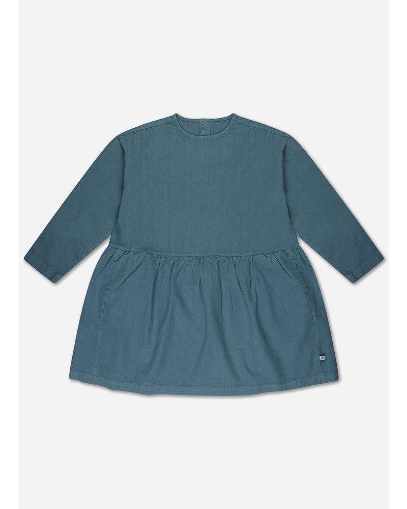 Repose 33. twirl dress - storm blue