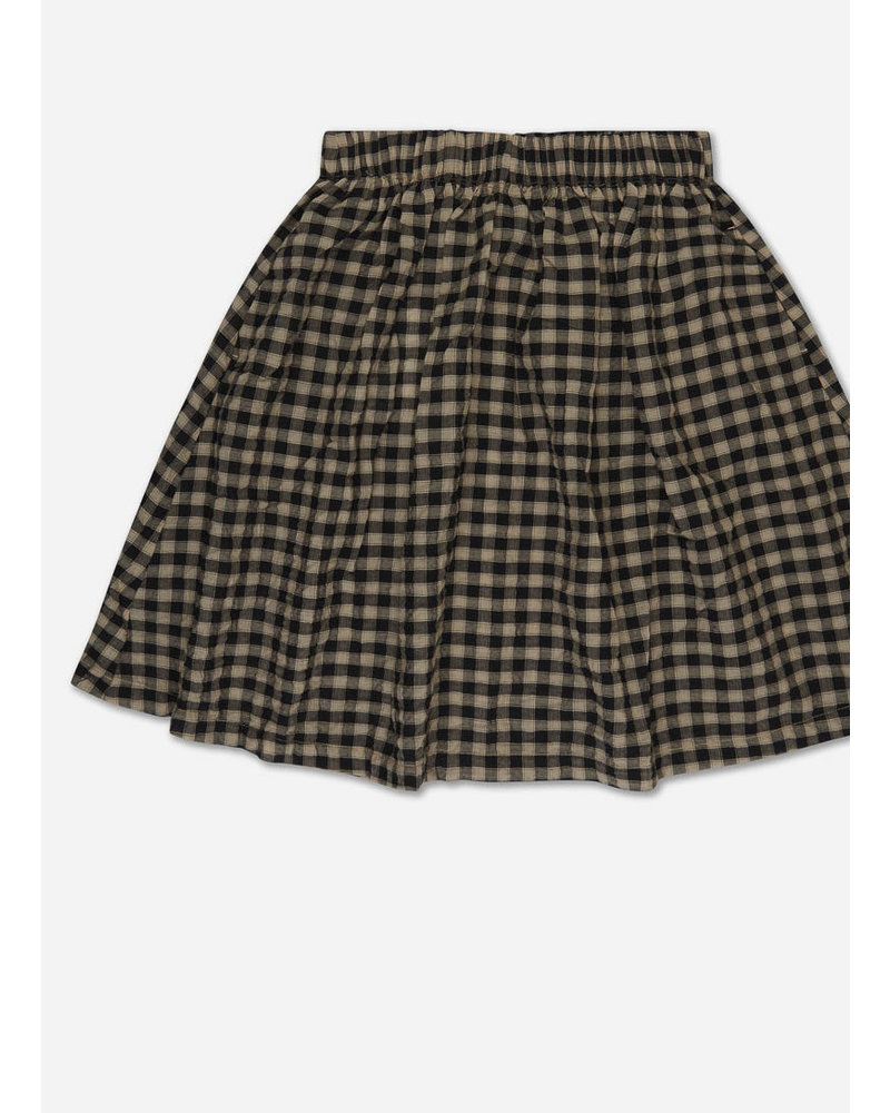 Repose 27. skirt - noir bb check