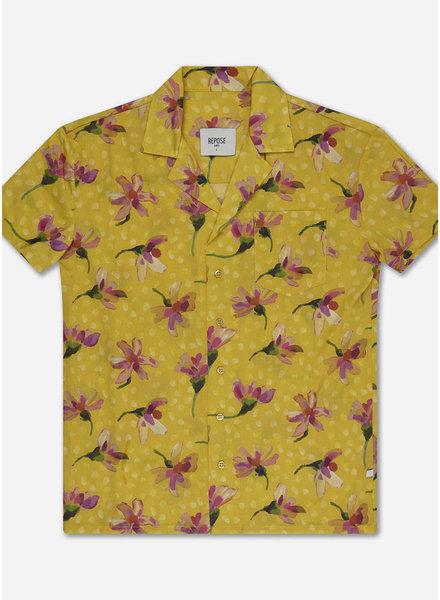 Repose boxy shirt - liberty daisy