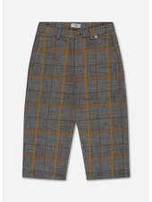 Repose check pants - grey sunny check