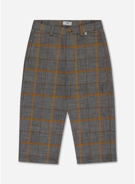Repose check pants - grey sunny check
