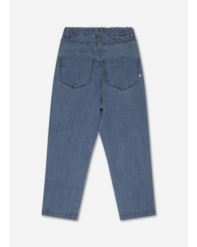 Repose 16. denim 5 pocket - mid blue