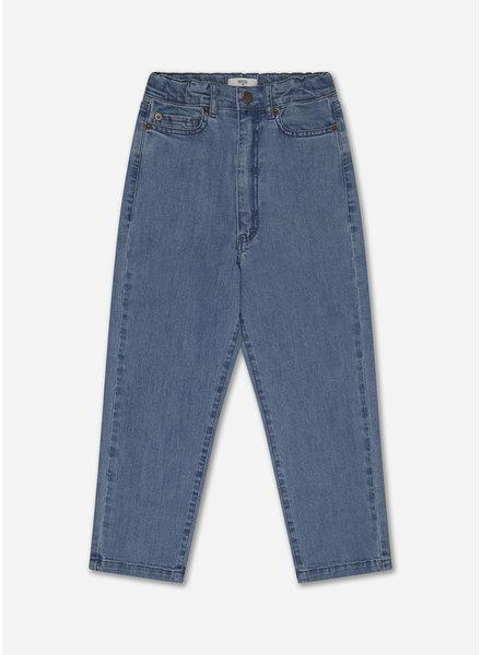 Repose denim 5 pocket - mid blue