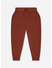 Repose sweatpants - greyish crab red