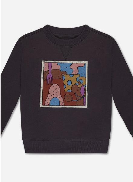 Repose sweater - dark night grey