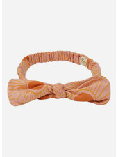 Soft Gallery bow hairband - peach bloom sunshine