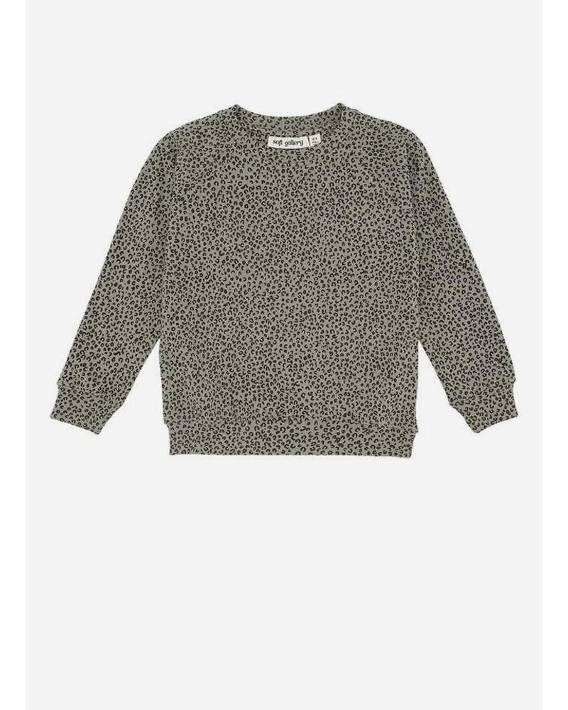 Soft Gallery chaz sweatshirt - shadow leospot