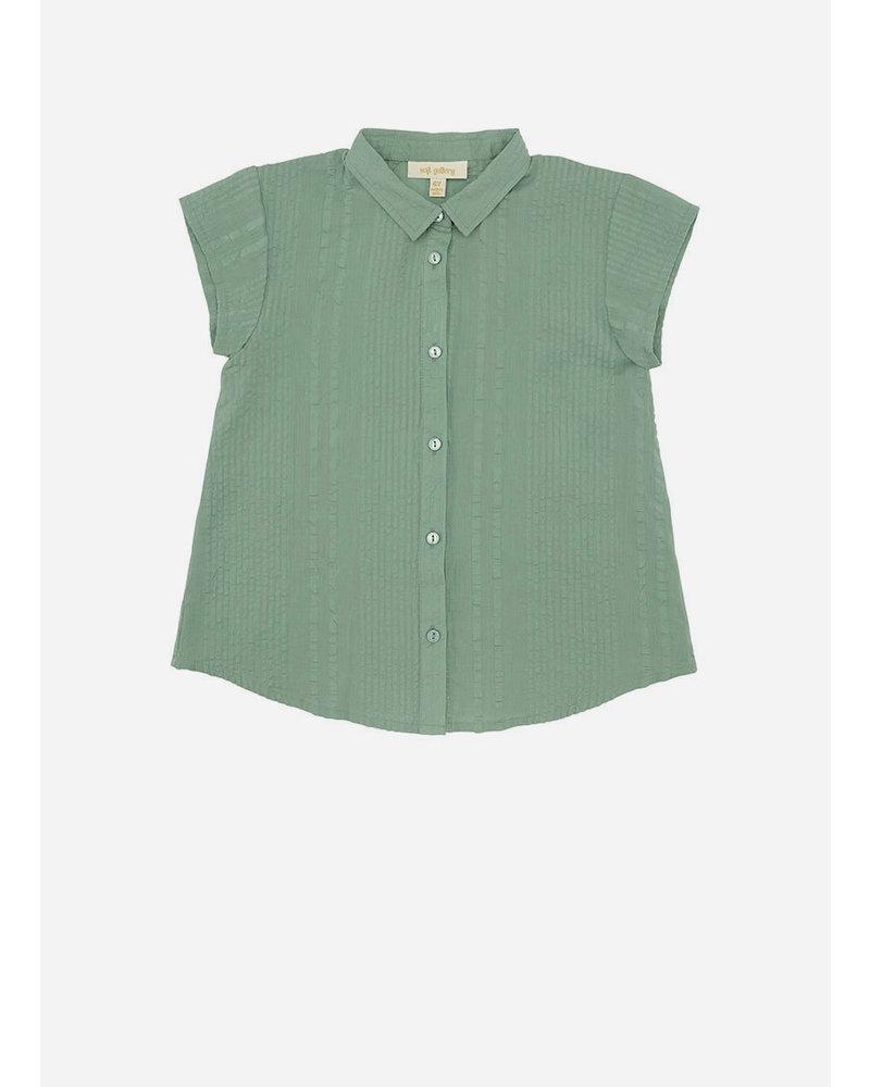 Soft Gallery diza shirt - basil