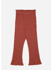 Soft Gallery francine pants - cinnabar dotty emb