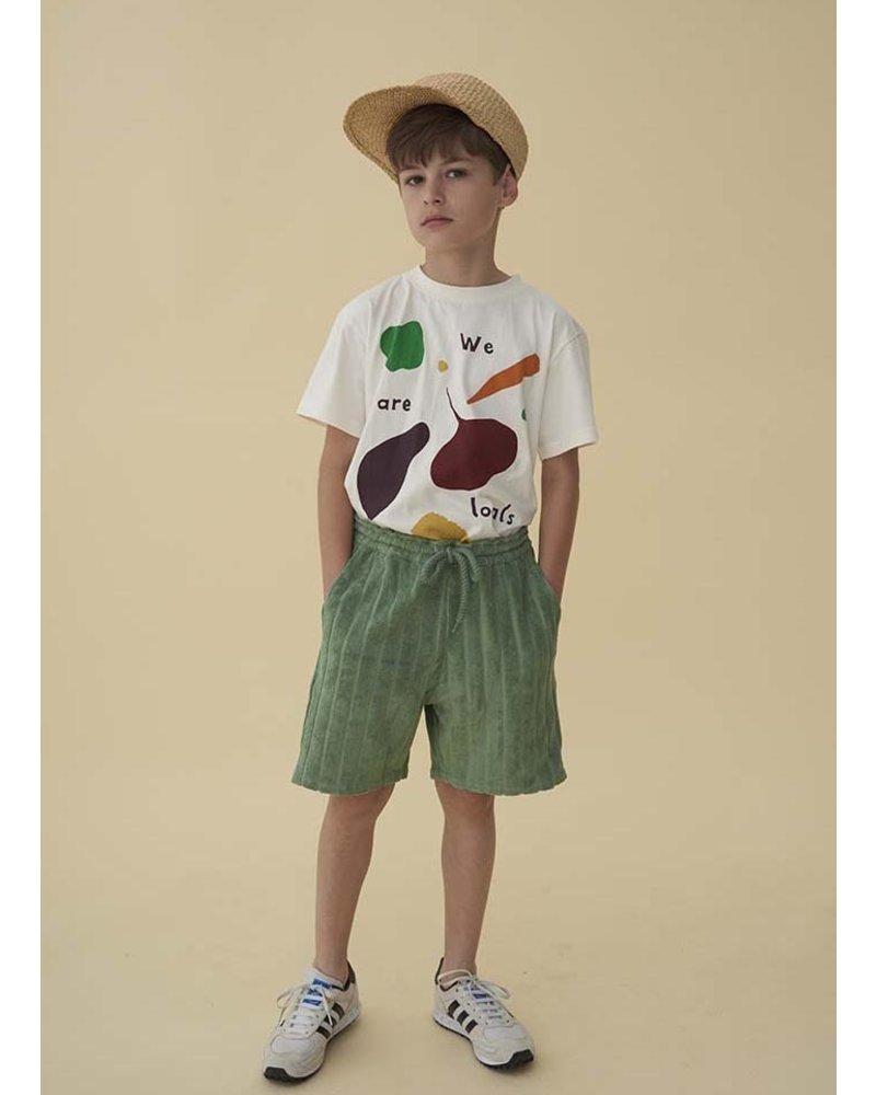 Soft Gallery asger tshirt - gardenia vegtables