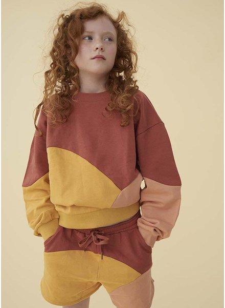 Soft Gallery drew sweatshirt - scenery girl