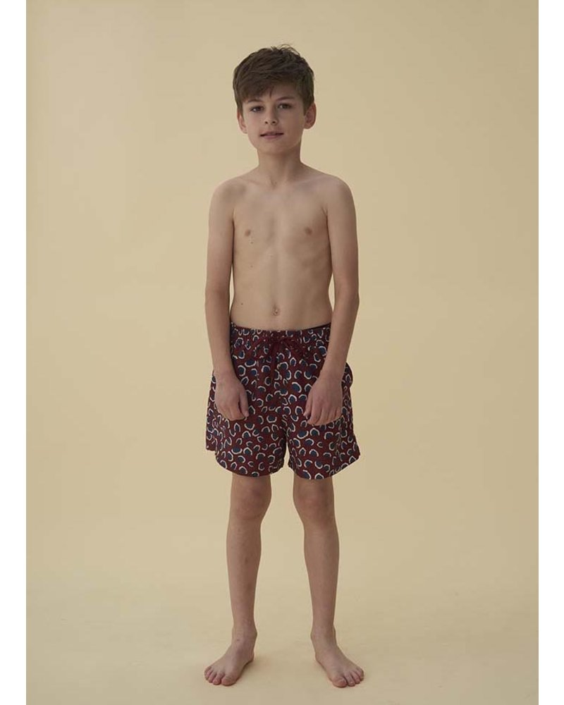 Soft Gallery dandy swimpants - russet brown coral