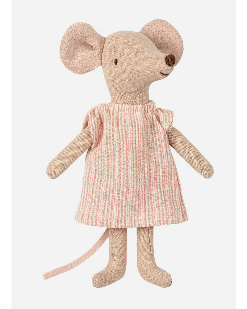 Maileg big sister mouse with pyjama in box