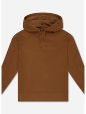 Repose hoodie - greyish crab red