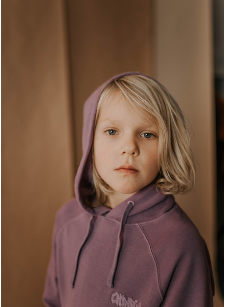 Repose hoodie - purple rain