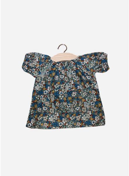 Minikane poppenkleertjes robe jeanne cotton liberty