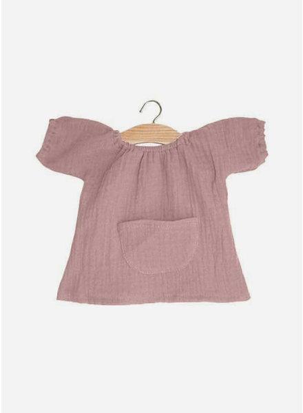 Minikane poppenkleertjes robe jeanne rose